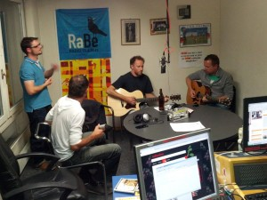 Pams' State im Radieschen auf Radio RaBe