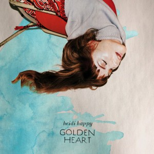 """Golden Heart"" von Heidi Happy"
