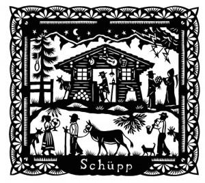 """Cover von Schüpps """"Huus"""""""