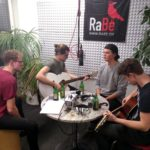 Rooftop Sailors im Radio Bern RaBe