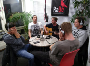 Get The Gorgeous im Radio Bern RaBe